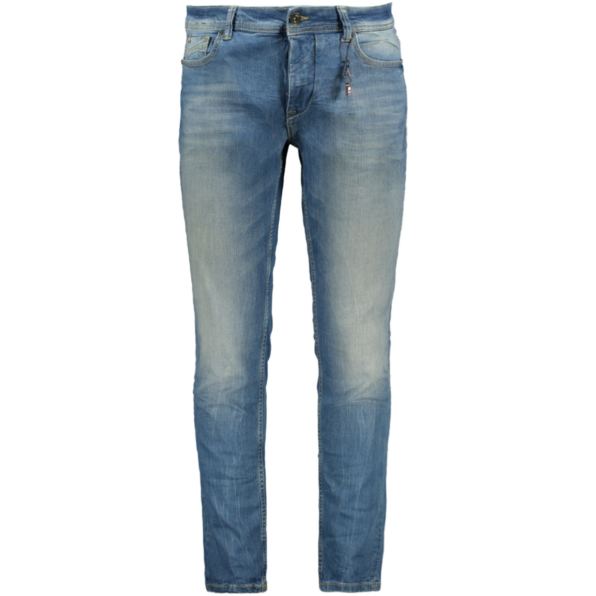 n711d05 no-excess jeans mid blue