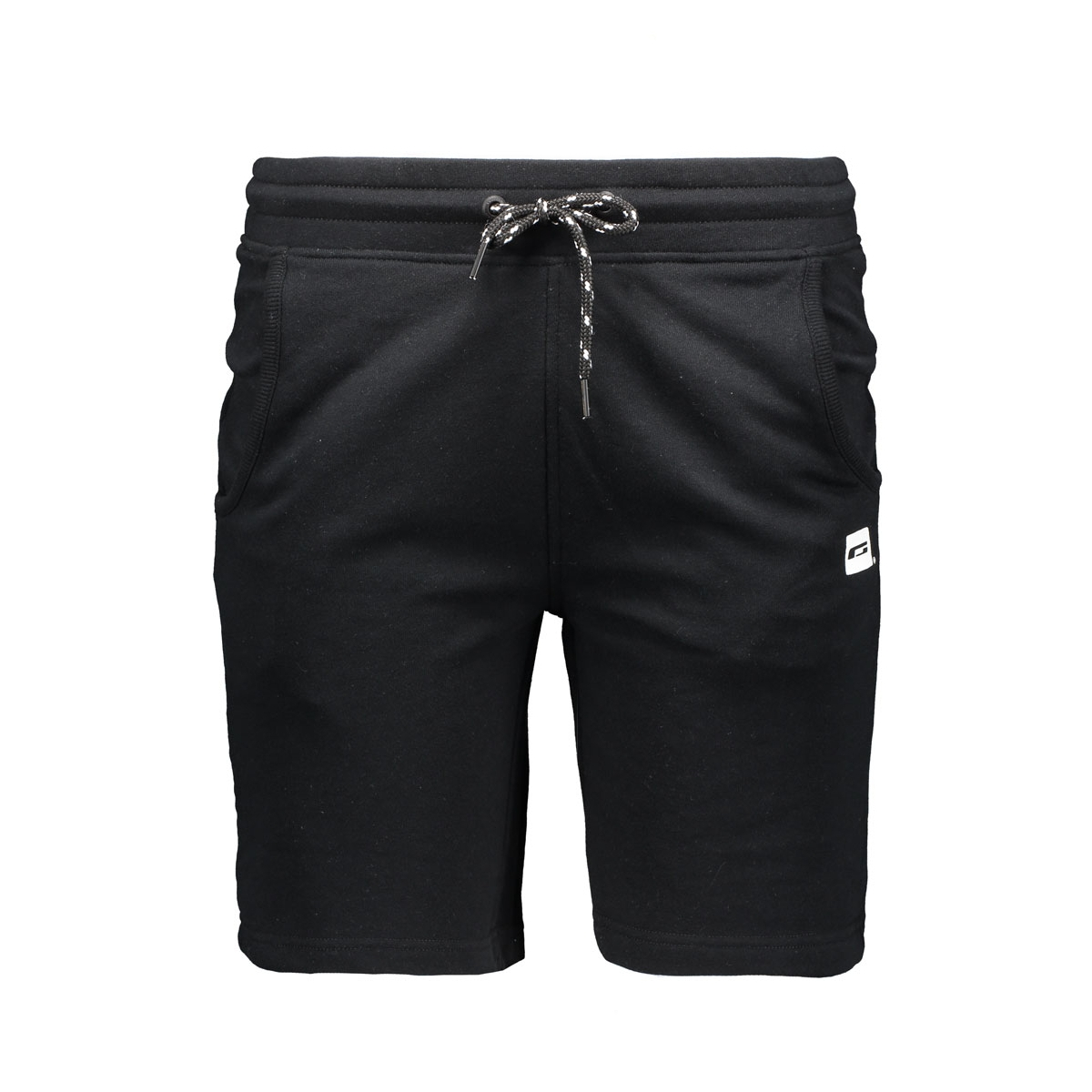 jcorun sweat shorts 12102357 jack & jones korte broek black