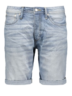jjirick jjoriginal shorts ge 508 12103205 jack & jones korte broek blue denim