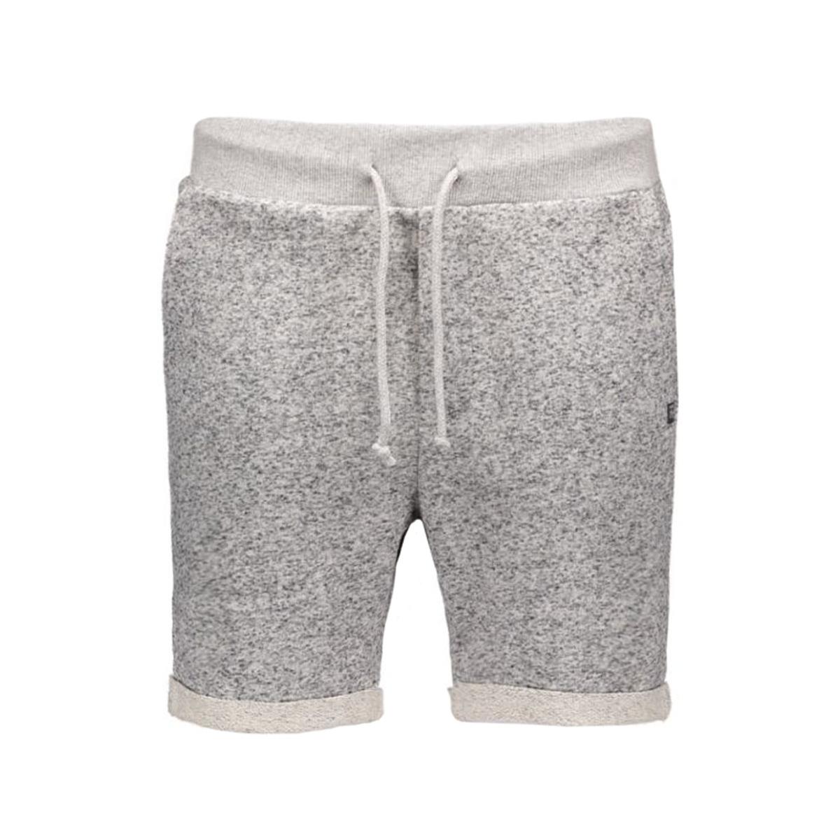jjorboost sweat shorts 12104874 jack & jones korte broek grey melange