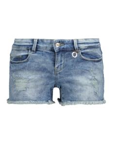 onlcoral sl destroy dnm shorts 15115301 only korte broek medium blue denim