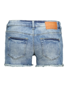 onlcoral sl destroy dnm shorts 15115301 only korte broek medium blue denim