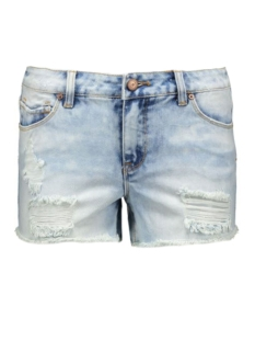 Pieces Korte broek pcJust Thilde Shorts 17072593 light blue denim