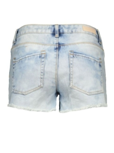 pcjust thilde shorts 17072593 pieces korte broek light blue denim
