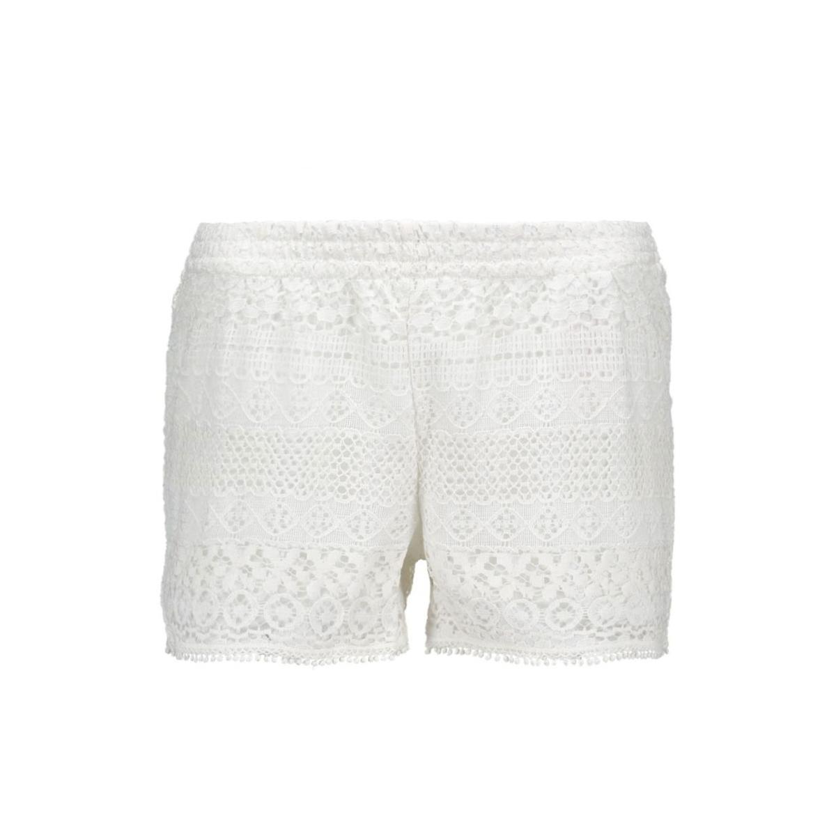 onlheaven lace shorts wvn rp2 15123889 only korte broek cloud dancer