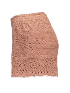 onlheaven lace shorts wvn rp2 15123889 only korte broek cognac