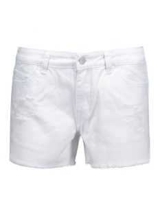 pcjust trish shorts/bwhi noos 17071327 pieces korte broek bright white