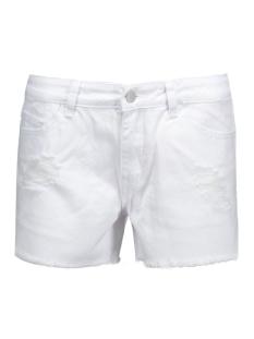 Pieces Korte broeken PCJUST TRISH SHORTS/BWHI NOOS 17071327 Bright White