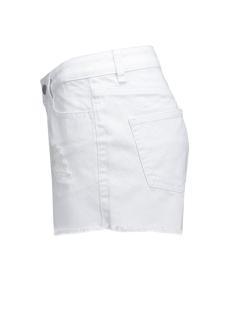 pcjust trish shorts/bwhi noos 17071327 pieces korte broek bright white