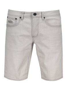 Superdry Korte broek M71901JO ZKN OFFICER SHORT Grey Mist