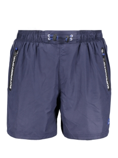 Superdry Sport short M71502POF1 LAYER SHORT Rich Navy Black