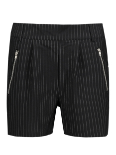Only Korte broek onlPOPTRASH ZIP PINSTRIPE SHORTS 15134210 Black