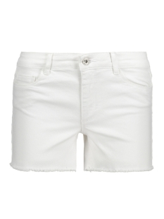 Only Korte broek onlDENIM POWER REG DNM SHORTS BOX P 15136120 White