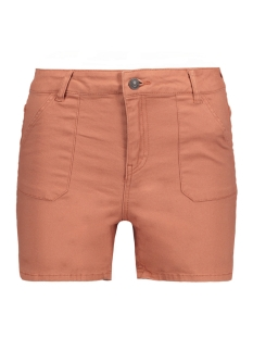 Vero Moda Korte broek VMNINE HW POCKET COLOR SHORTS Cedar Wood