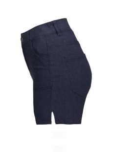vmnine hw pocket color shorts 10171159 vero moda korte broek navy blazer