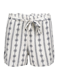 Vila Korte broek VIETHNOLINE SHORTS GV 14041317 Cloud Dancer/ Viethnolin