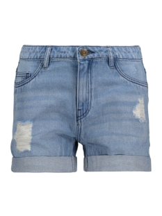 Jacqueline de Yong Korte broek JDYCODE DESTROY DENIM SHORTS LT BLUE 15134803 Light Blue Denim
