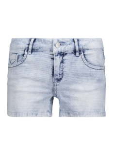 VMBE FIVE LW JAQUARD SHORTS 10173065 Light Blue Denim