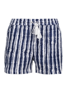 Vila Korte broek VICOAST SHORTS/B 14041299 Estate Blue/ Vivoast PR
