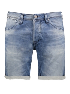 Jack & Jones Korte broek JJIRICK JJDASH SHTS GE 788 IND KNIT 12116591 Blue Denim