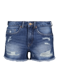Only Korte broek onlMARY HW  DNM SHORTS PIM NOOS 15135067 Dark Blue Denim