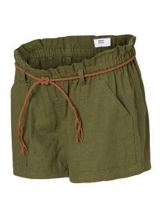 Mama-Licious Positie broek MLKENYA WOVEN SHORTS 20007201 Ivy Green