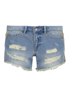 onlCARRIE LOW COL TAPE DNM SHORTS BJ9076 15134624 Light Blue Denim