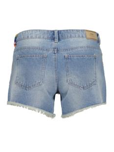 onlcarrie low col tape dnm shorts bj9076 15134624 only korte broek light blue denim