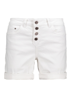 Object Korte broek OBJANTIFITALLY NEW CANVAS SHORTS 89 23023856 White