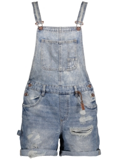onlTARA LONG DEST DNM SHORTS OVERAL 15134273 Light Blue Denim