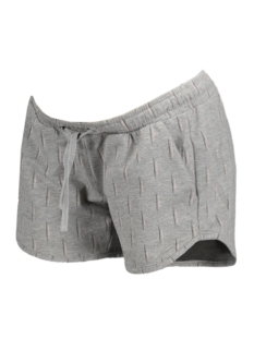 Mama-Licious Positie broek MLNABIA JERSEY SHORTS A 20007617 Light Grey Melange/ Peach Whip