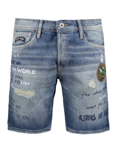 Jack & Jones Korte broek JJIRICK JJSHORT JOS 213 12122243 Blue Denim