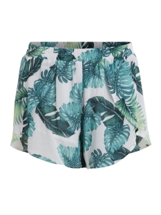 Vila Korte broek VIPALMAS SHORTS/B 14041268 Cloud Dancer/Palmas P