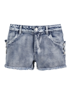 Noisy may Korte broek NMBE LUCY NW BUTTON SHORTS 10174273 Light Blue Denim