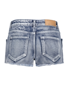 nmbe lucy nw button shorts 10174273 noisy may korte broek light blue denim