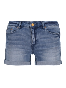 onyPEARL MID WAIST MB SHORTS DNM 15141044 Light Blue Denim