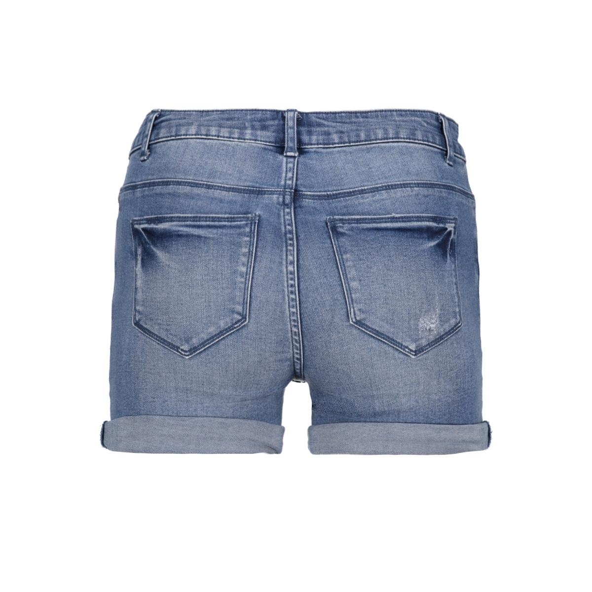 onypearl mid waist mb shorts dnm 15141044 only korte broek light blue denim