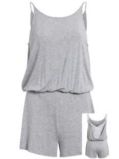 Vila Jumpsuit VIJULIANAS S/L PLAYSUIT VIJULIANAS S/L PLAYSUIT Light Grey Melange