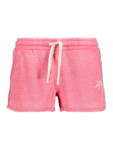Only Korte broek onlOLIVIA SHORTS SWT 15138045 Bubblegum/WASH