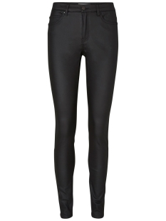 NMLUCY NW DELUXE COATED PANTS NOOS 27000548 Black