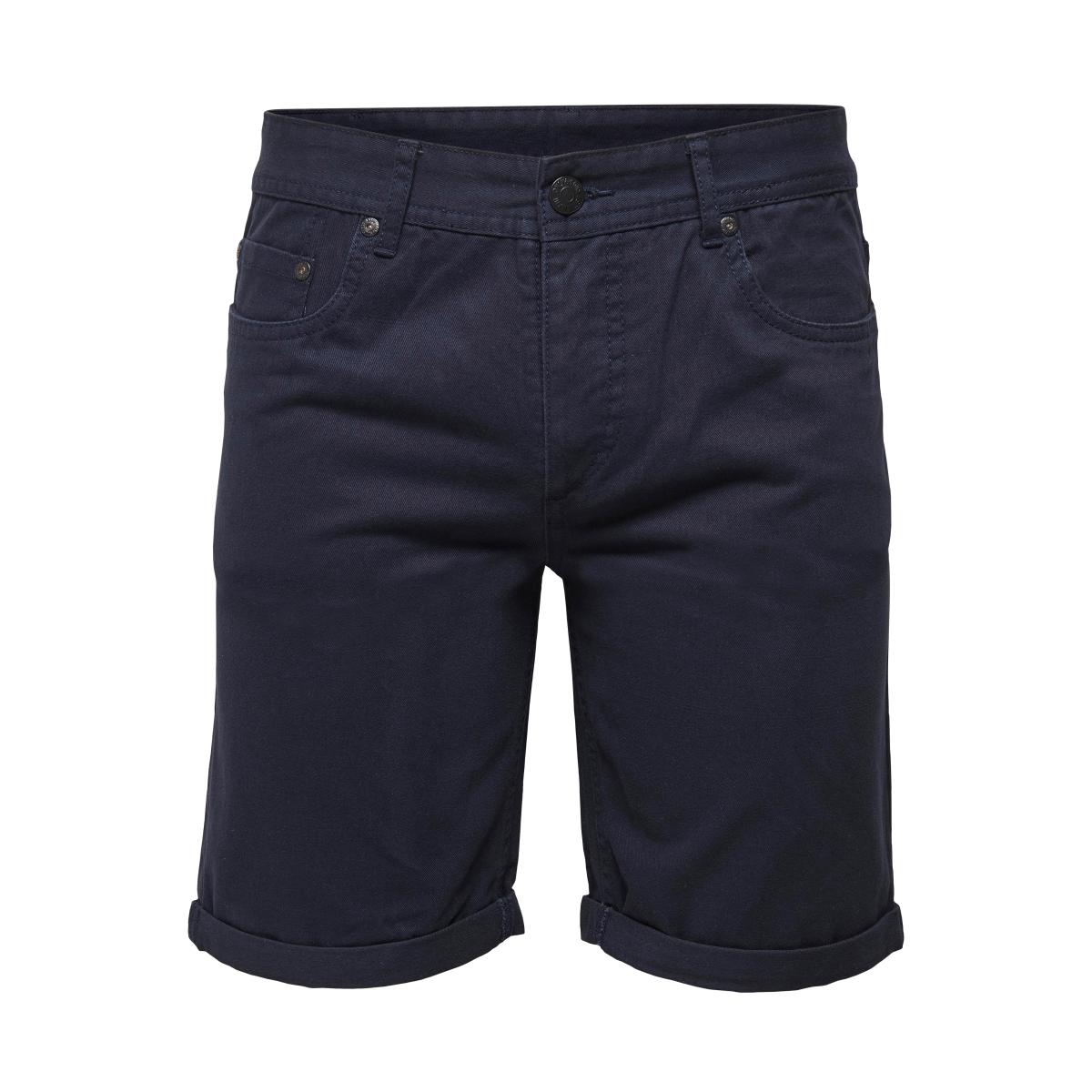 onsloom twill shorts exp 22008389 only & sons korte broek dress blue