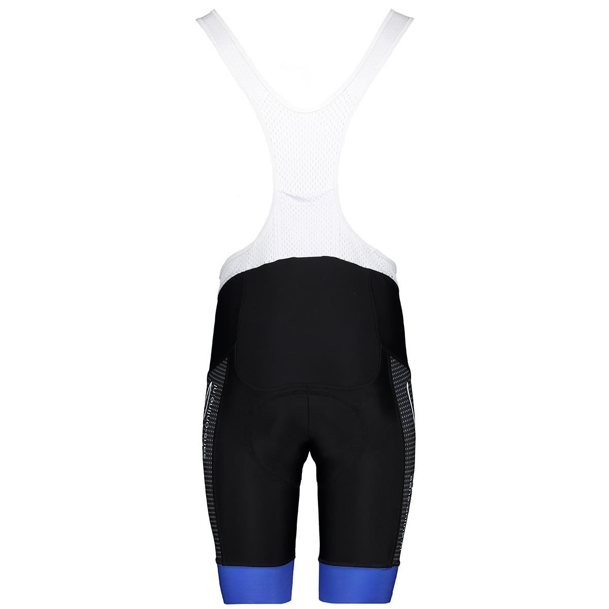 52155 bibshort kort sans sport broek blauw wit