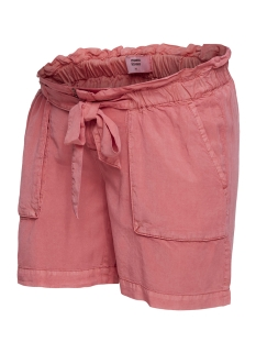 Mama-Licious Positie broek MLBETHUNE WOVEN SHORTS 20008364 Slate Rose