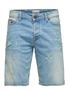 Only & Sons Korte broek onsPLY SHORTS BLUE CR 8601 NOOS 22008601 Blue Denim