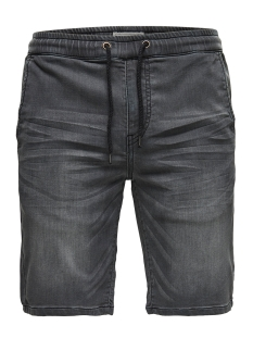 Only & Sons Korte broek onsLINUS JOG SHORTS GREY PK 9063 22009063 Grey Denim