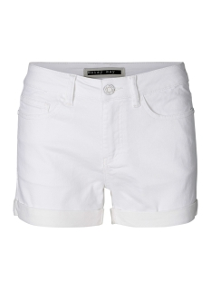 nmbe lucy nw den fold shorts gu810 noos 27001880 noisy may korte broek bright white