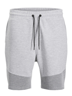 Jack & Jones Korte broek JCODONDE SWEAT SHORTS EASTER 12136063 Light Grey Melange
