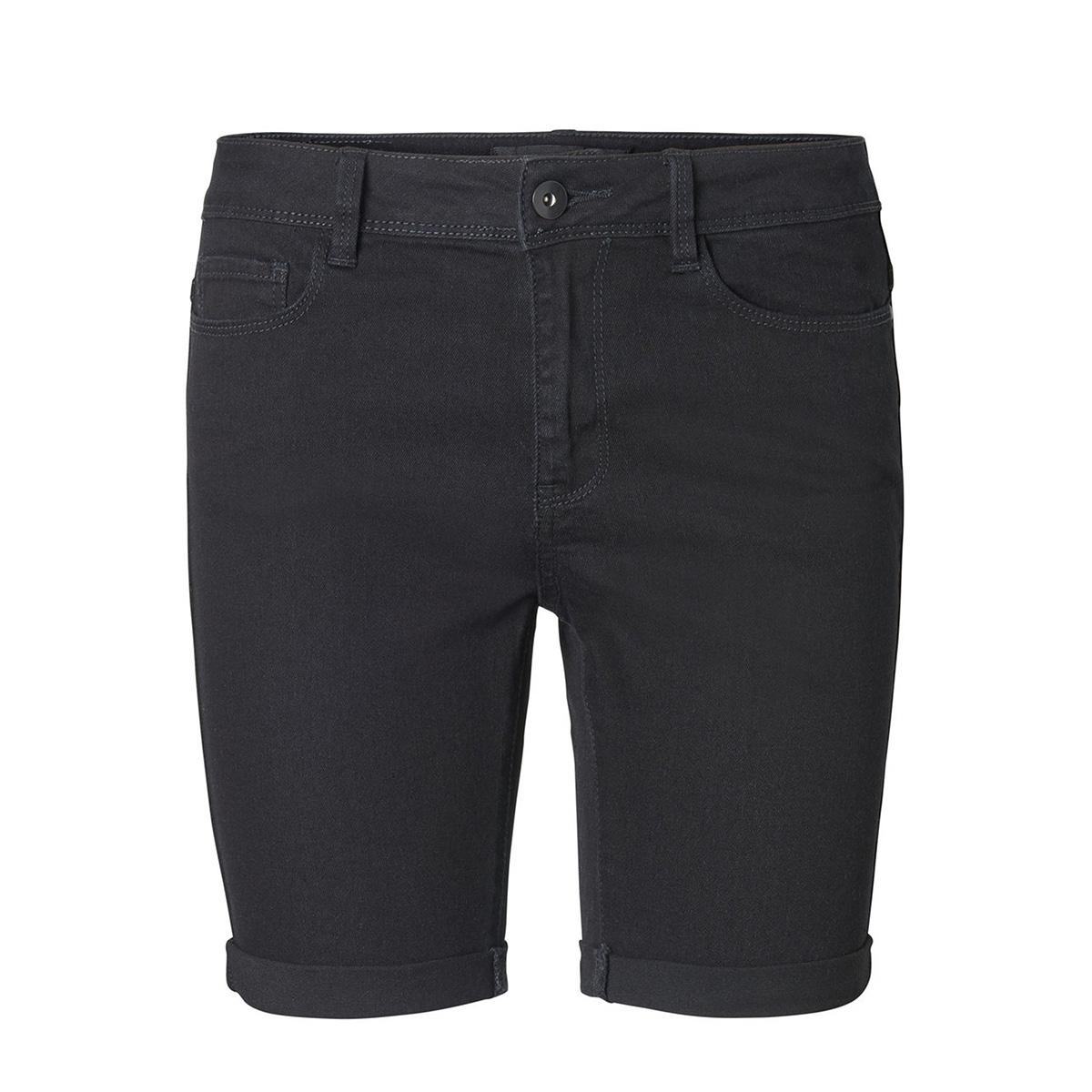 vmhot seven nw dnm long f short 10193078 vero moda korte broek black
