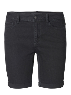 Vero Moda Korte broek VMHOT SEVEN NW DNM LONG F SHORT MIX NOOS 10193078 Black