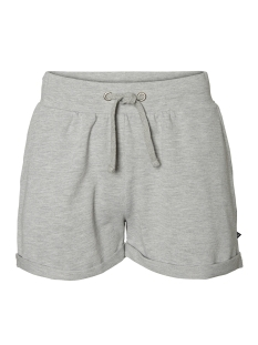 Noisy may Korte broek NMLUCKY NW SHORTS NOOS  27001046 Ligth Grey Melange